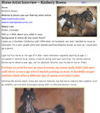 Kimberly Bowen - Horse Artist Interview