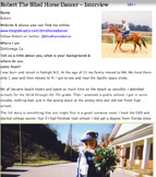 Robert the Blind Equestrian Interview